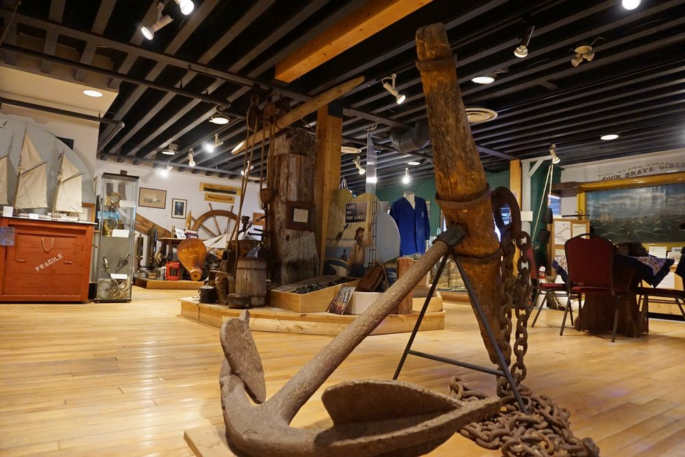 Main Gallery – Anchor in foreground
