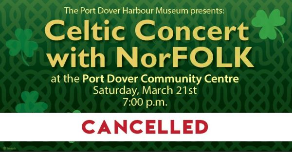 CANCELLED – Celtic Concert with NorFOLK 2020