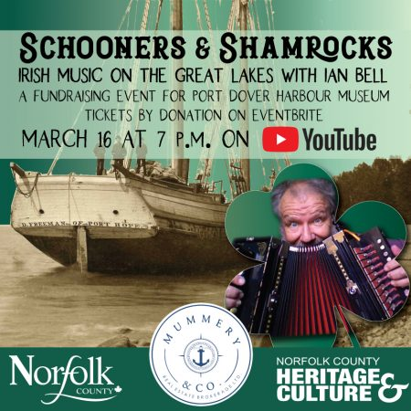 Schooners & Shamrocks – Irish Music on the Great Lakes with Ian Bell